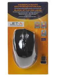 Мышь беспроводная Jet.A Black Style OM-U24G