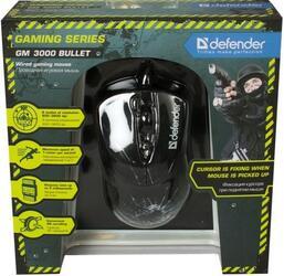 Мышь игровая проводная Defender GM-3000 Bullet USB