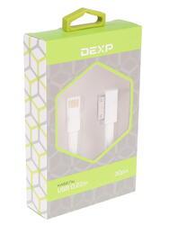 Кабель DEXP U3WF022 USB - 30-pin белый