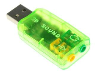 Внешняя звуковая карта 3D C-Media CM108