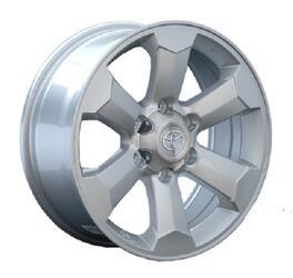 Автомобильный диск литой Replay TY69 7,5x18 6/139,7 ET 25 DIA 106,1 Sil