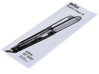 Выпрямитель для волос Braun ST 550