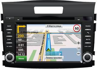 Автопроигрыватель Velas V-HCRV + Navitel (Honda CR-V 2012+)