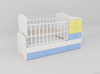 Кроватка-трансформер СКВ-9 930033-1