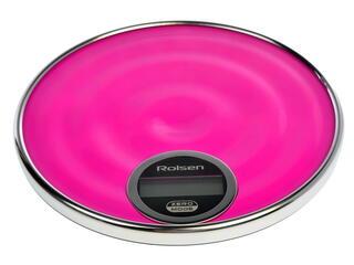 Кухонные весы Rolsen KS-2915 розовый