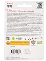 Карта памяти SanDisk microSDHC 16 Гб