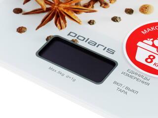 Кухонные весы Polaris PKS 0832DG белый