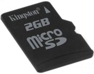 Карта памяти Kingston microSD 2 Гб