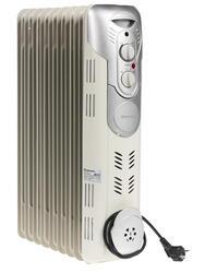 Масляный радиатор Rolsen ROH-D9 серебристый