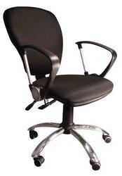 Кресло офисное ДЭФО Фокус GTP LUX CHROME серый