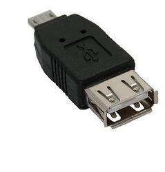 Переходник Espada USB - micro USB черный