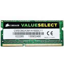 Оперативная память SODIMM Corsair [CMSO8GX3M1A1600C11] 8 Гб