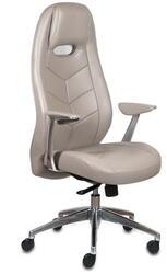 Кресло офисное Бюрократ Zen серый