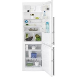 Холодильник с морозильником Electrolux EN3614AOW белый