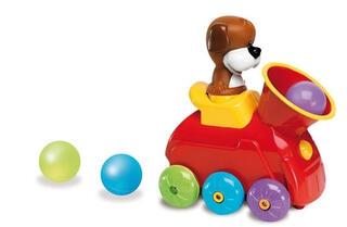 Интерактивная игрушка Yaki Паровоз в наборе с шариками