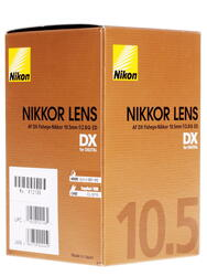 Объектив Nikon AF DX 10.5mm F2.8 G ED Fisheye-Nikkor
