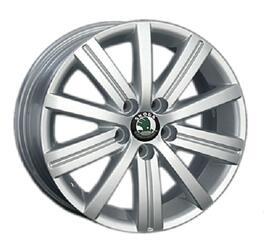 Автомобильный диск литой Replay SK41 6x15 5/112 ET 47 DIA 57,1 Sil