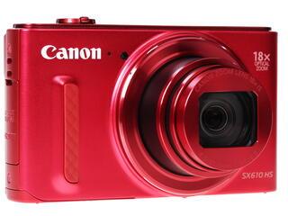 Компактная камера Canon PowerShot SX610 HS красный