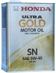 Моторное масло Honda (Orig.Japan) Ultra Gold 5W40 08220-99974