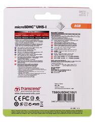 Карта памяти Transcend Ultimate microSDHC 8 Гб
