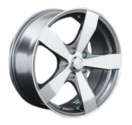 Автомобильный диск литой LS 205 6,5x15 4/100 ET 43 DIA 60,1 SF