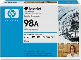 Картридж лазерный HP 98A (92298A)