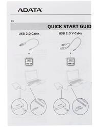 "2.5"" Внешний HDD A-Data [AHD710-1TU3-CBK]"