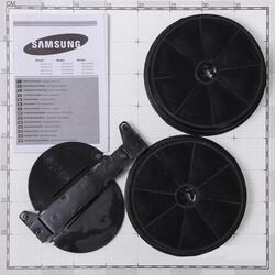 Вытяжка каминная Samsung HDC6A90UX серебристый
