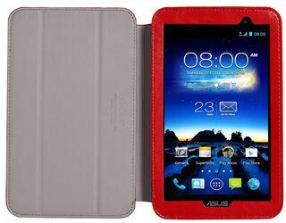 Чехол-книжка для планшета ASUS MeMO Pad 7 ME176C, ASUS MemoPad 7 ME176CX красный