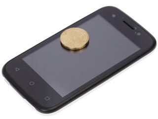 "3.5"" Смартфон BQ BQS-3510 Aspen Mini 512 МБ белый"