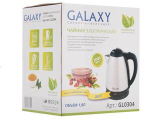 Электрочайник Galaxy GL 0304 серебристый
