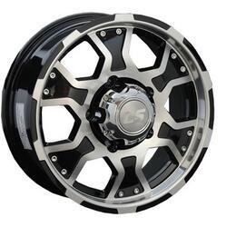 Автомобильный диск Литой LS 198 6,5x15 5/139,7 ET 40 DIA 98,5 BKF