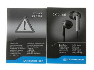 Наушники Sennheiser CX 2.00G