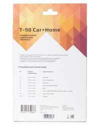 Адаптер питания автомобильный + сетевой DEXP T-90 Car+HomeManual