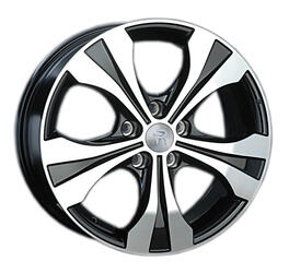 Автомобильный диск литой Replay KI80 6,5x17 5/114,3 ET 35 DIA 67,1 BKF