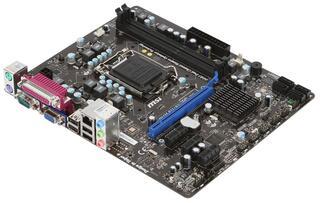 Плата MSI LGA1155 H61M-P23 H61 2xDDR3-1333 PCI-Ex16 DSub 8ch 4xSATA COM GLAN mATX