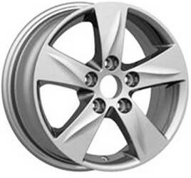 Автомобильный диск литой Replay MZ42 5,5x15 5/114,3 ET 50 DIA 67,1 Sil