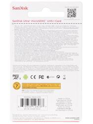 Карта памяти SanDisk Ultra SDSDQL-064G microSDXC 64 Гб