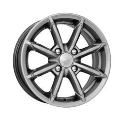 Автомобильный диск литой K&K Sportline 6x14 4/100 ET 30 DIA 67,1 Блэк платинум