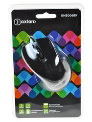 Мышь проводная Oxion OMS006BK