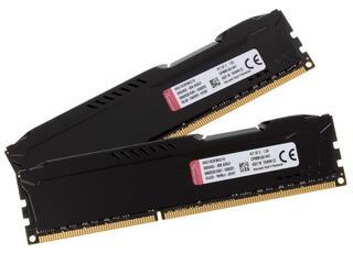 Оперативная память Kingston HyperX FURY Black Series [HX313C9FBK2/16] 16 ГБ
