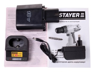 Шуруповерт STAYER SCD-18-B