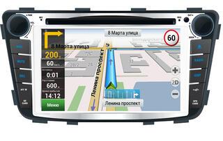 Автопроигрыватель Velas V-HSO с картой Navitel (for Hyundai Solaris)