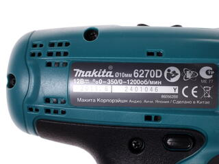 Шуруповерт Makita 6270 DWPLE