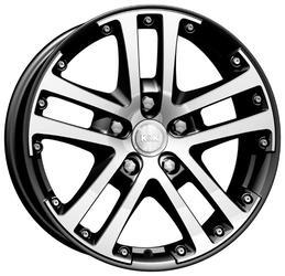 Автомобильный диск  K&K Центурион 7x17 5/108 ET 40 DIA 67,1 Алмаз черный