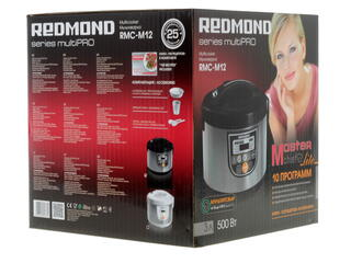 Мультиварка Redmond RMC-M12 черный