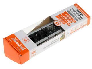 Сетевой фильтр Belsis BP1613 серебристый, черный