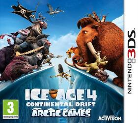 Игра для 3DS Ice Age 4: Continental Drift. Arctic Games