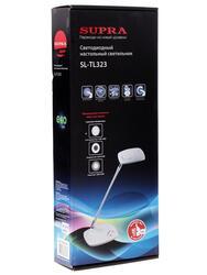 Настольный светильник SUPRA SL-TL323 белый, черный