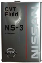 Трансмиссионное масло Nissan CVTfluid NS3 9KLE53-00004